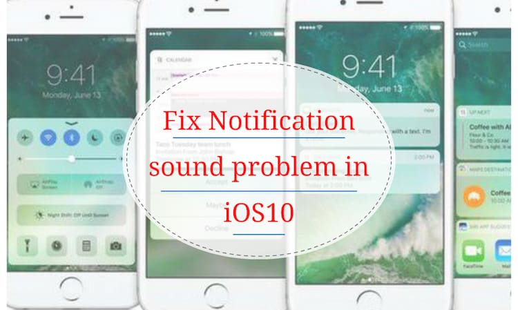 how to change notification sound on iphone ios 10