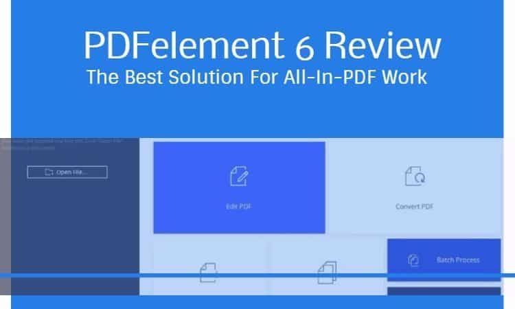 pdfelement 6 review