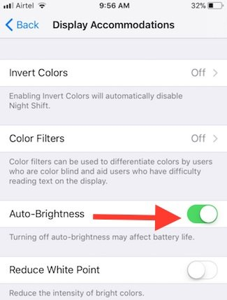 display-auto-brightness-in-ios11