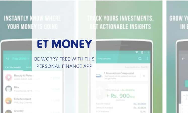 ET MONEY : A Worry Free Personal Finance App by Times