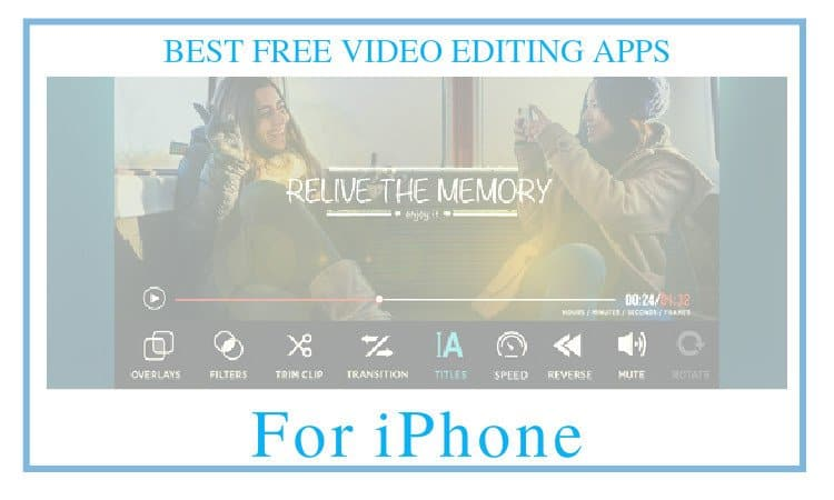 free video editing apps