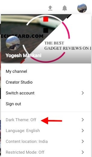 enable-Youtube-dark-mode