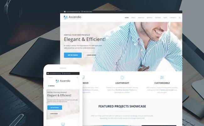 Ascendio - Corporate & Business WordPress Theme